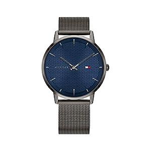 Tommy Hilfiger Reloj Analógico para Hombre de Cuarzo con Correa en Acero Inoxidable 1791656