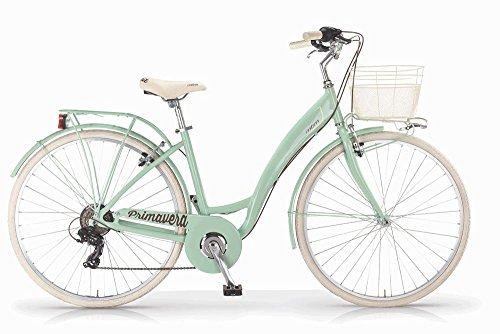 Vélo MBM Primavera 2017 pour femmes, cadre en aluminium, 6 vitesses,...