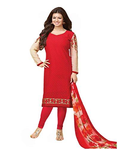 VinayTM Ayesha Takia Party Wear Suit Pure Cotton Unstitched Trendy Salwar Kameez Dupatta/Salwar Suit