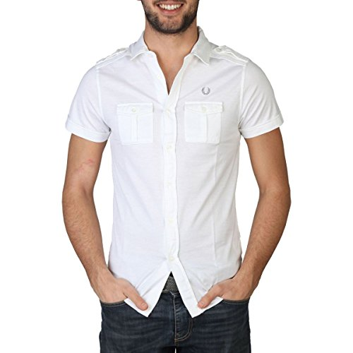 Chemise homme Fred Perry 30062007 9100 Blanc