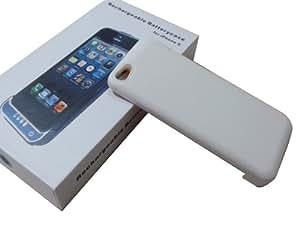 PowerCase Weiß für Apple iPhone 5 mit Lightning Anschluss , Zusatzakku , 2200 mAh , Schutzhülle