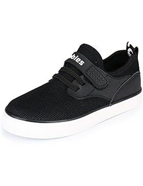 Kentti Unisex-Kinder Freizeit Jungen Mesh Low-Top Turnschuhe Sneaker