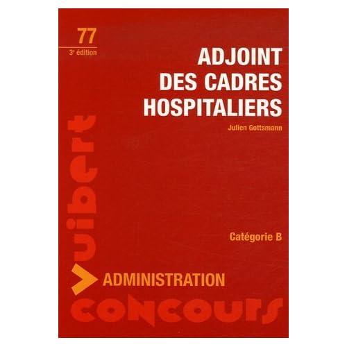 Adjoint des cadres hospitaliers : Catégorie B