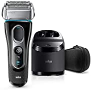 Braun Series 5 Shaver 5190cc Men's Rechargeable Foil Shaver with Clean & Charge Sy