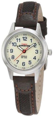 Timex T41181 – Reloj de cuarzo para mujeres, color marrón