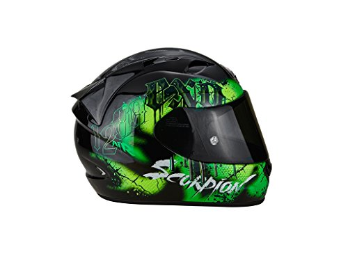 Scorpion Helm Motorrad exo-1200Air Tenebris Black/Green, L