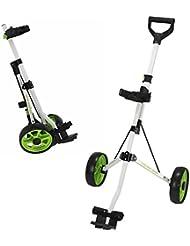 Young Gun niños ajustable para carrito de Golf para golfistas 3–14años Color Blanco