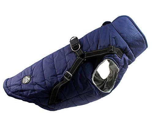 Abrigo Chaqueta para Perro, Caliente para Mascotas, Chaqueta Chubasquero Impermeable de Invierno,...