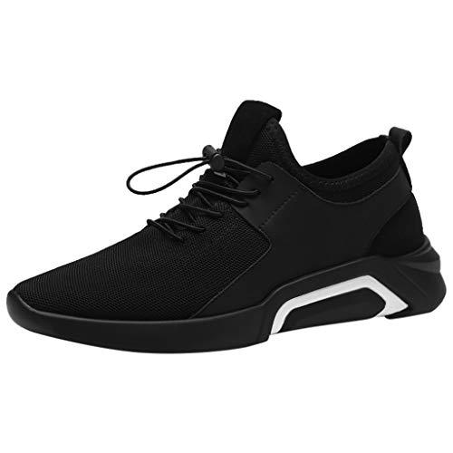Schuhe Herren Sneaker | Holeider Laufschuhe Sportschuhe Mode | Turnschuhe Freizeitschuhe Camouflage Leichte Bequem Fitnessschuhe für Männer Schuhe Mesh Freizeit Outdoor (Tennis-marathon)