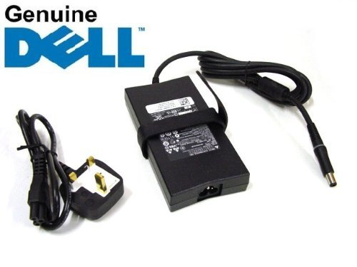 150w Laptop Ac Adapter (GENUINE Original DELL 150W 19.5V 7.7A PA-5M10 Alienware Inspiron Latitude XPS Notebook, Laptop AC Adapter , Power Supply Charger , Complete with UK Mains Power Cable , updated version of PA-15 Adapter , Dell P/N : J408P , FREE DELIVERY)