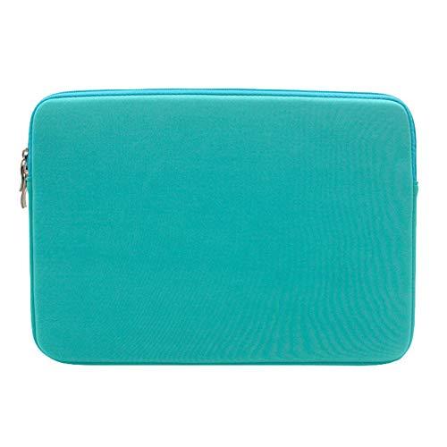 Laptop Hülle Tasche Neopren Wasserdicht für 15 Zoll MacBook Mac Air Pro Retina,Himmelblau