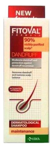 Fitoval Maintenance Anti- Dandruff Dermatological Shampoo with Zinc Pyrithione, White