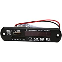Módulo de reproductor de audio Bluetooth USB SD TF FM MP3 WMA Decodificador Junta Altavoz de