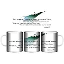 Creepyshirt - FINAL FANTASY VII INSPIRED - QUOTES MUG
