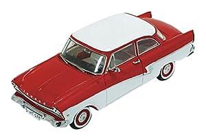 """IXO IXOPRD387 - Escala 1:43 """"PremiumX 1957 Ford Taunus 17 M Rojo/Blanco Modelo Coche"""