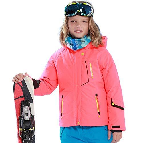 fdghhgjgtkuyiuy Heißer verkaufender Cooler entworfener im Freien Schnee-Ski-Jungen-im Freiensport-Jacken-Mantel orange 158/164 (Coole Ski-mäntel)