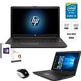 Notebook Portatile Hp G7 intel i5 8265U 3,7ghz,Ram 8Gb Ddr4,Ssd M.2 250GB+Hdd 500Gb,Display full hd 15.6',Hdmi,USB,Lettore Dvd-Cd,Wifi,Bluetooth,Webcam,Office pro 2019,Windows 10,OMAGGIO mouse hp wifi