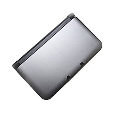 OSTENT Full Housing Shell Case Cover Replacement Compatible for Nintendo 3DS XL 3DS LL - Color Silver