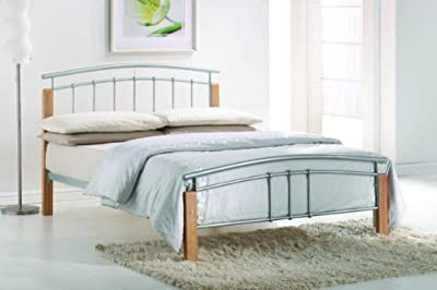 Tetras Double 4FT6 Metal Bed frame - inexpensive UK bed store.
