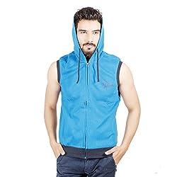 Numero Uno Sky Blue Sweatshirts (Large)