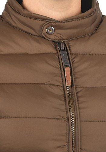 BLEND SHE Cora Damen Steppjacke Winter-Jacke mit Stehkragen aus hochwertiger Materialqualität Brown (20021)