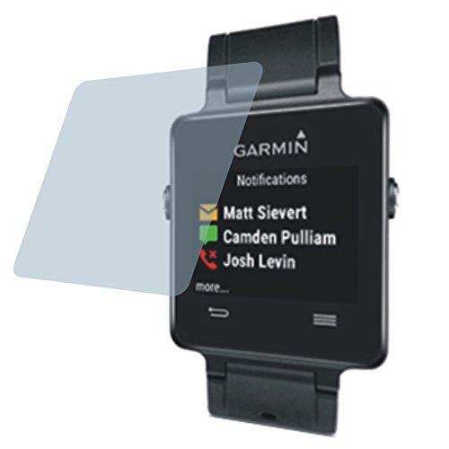 Garmin Vivoactive (4 Stück) PREMIUM Displayschutzfolie Bildschirmschutzfolie kristallklar Schutzhülle Displayschutz Displayfolie Folie