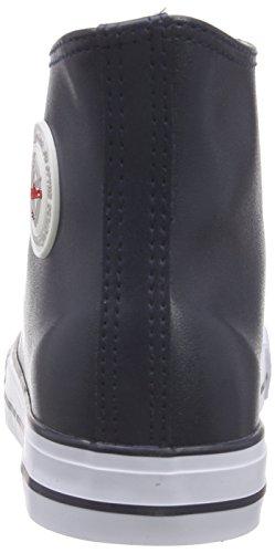 Nebulus Voll-Leder-Evo, Sneakers Hautes Homme Bleu (navy)