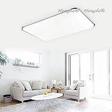 HengdaR 96W LED Deckenleuchte Kchen Badleuchte Wohnzimmer 8640LM Weiss IP44 Badezimmer Geeignet 230v