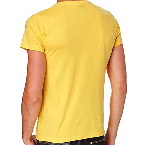 SRK-maglietta manches courtes Uomo CORACE giallo