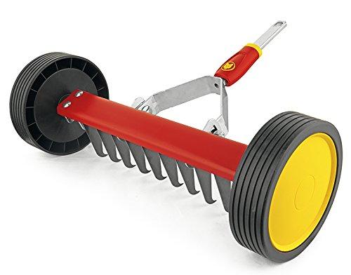 """WOLF-Garten - Vertikutier-Roller multi-star® UR-M 3""""NEU2018, Rot, 30x60x16 cm; 71AAA036650"""