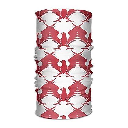 Red Eagle Silhouette Unisex Breathable Headband...