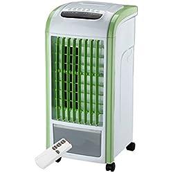 KEYIA Refroidisseur D'Air 4 en 1, Vert avec Humidificateur à Ventilateur Et Assainisseur D'Air à TéLéCommande