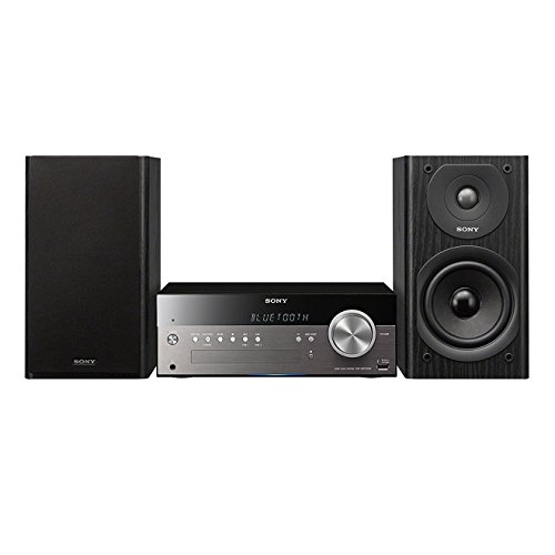 Sony CMT-SBT300WB Netzwerk Micro-Kompakt-System (DAB/DAB+, WiFi, Apple AirPlay, Bluetooth, USB, 100 Watt, CD-Player) -