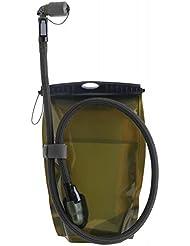Source Trinksystem Kangaroo Trinkblase 1 Liter Schwarz mit Sturmventil