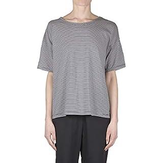 ottod'Ame - T-Shirt Damen Dunkelblau AOA DM7221 Magli Primavera/Estate 2019 - Made in Italy