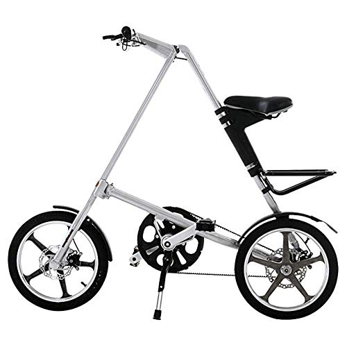 41yZ0jUXCQL. SS500  - ZHAORLL Ultralight Portable Folding Bicycle Aluminum Bicycle 14 Inch / 16 Inch Front And Rear Disc Brakes Men And Women Folding Bicycle