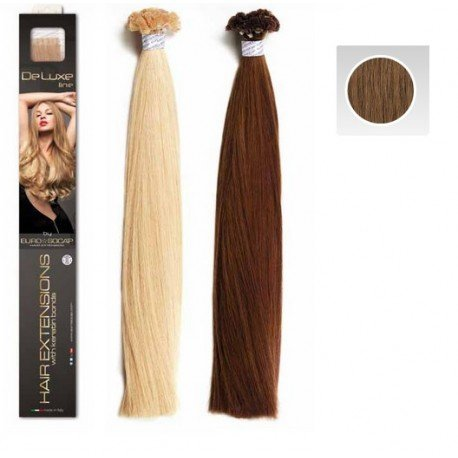 Euro So.Cap. Deluxe Extensions Dunkel Gold Blond 12 25x50-55cm
