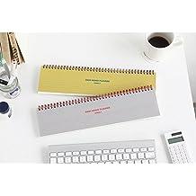 livework escritorio Memo planificador semanal, color gris