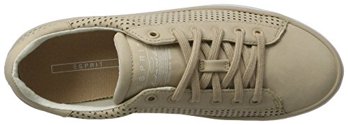 ESPRIT Damen Mandy Lace Up Sneakers Beige (280 skin beige)