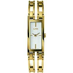 Alfex Women's Plated Stainless Steel Quartz Watch 5663_021