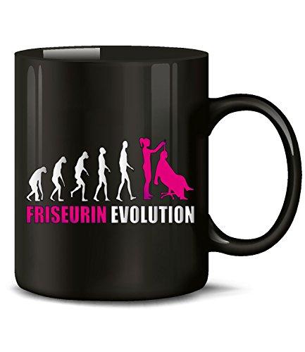 FRISEURIN EVOLUTION 4595(Schwarz-Pink)