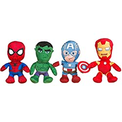 "Marvel Avengers 8 ""Felpa (uno suministrado)"