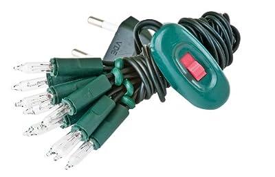 VBS Mini-Lichterketten mit Schalter, grün 10er, grün von VBS Hobby Service bei Lampenhans.de