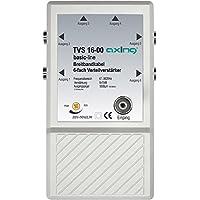 Axing TVS 16-00 Amplificatore per antenna TV digitale terrestre e FM radio, 6 Uscite, 10 dB, 47-862 MHz - Trova i prezzi più bassi su tvhomecinemaprezzi.eu