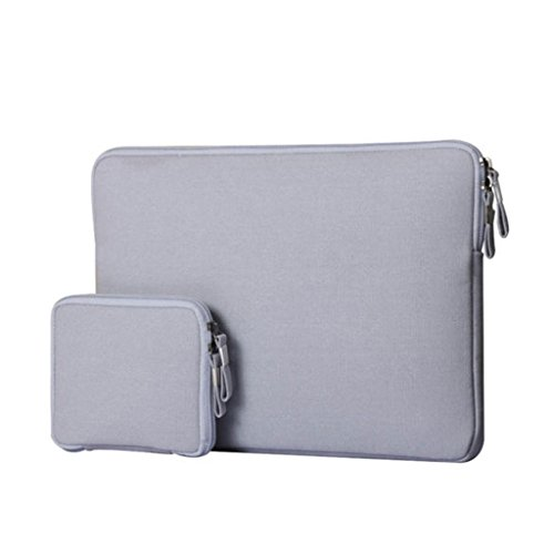 "Funda Protectora para Ordenador Portatil MacBook Mac Air Pro Retina de 11 - 13"", gris"