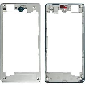 Mainfraime / Middlecover white für Sony Xperia Z1 Compact