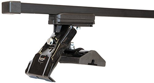 Summit Barres de toit (paire de) pour Audi A3Sportback/Hatchback (années 04–12) (5portes) pour voitures sans Rails