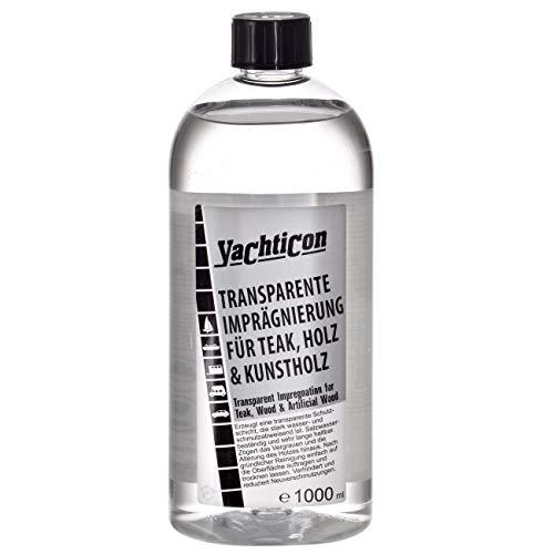 YACHTICON Transparente Imprägnierung für Teak, Holz und Kunstholz 1000 ml