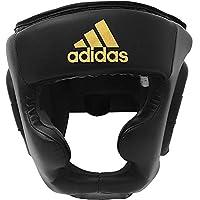 adidas Speed Super Pro Training HG Protección para la Cabeza, Unisex Adulto, Negro y Dorado, Medium