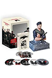 The Expendables Trilogy mit Stallone-Büste Blu-ray Limited Collector's Edition: Sylvester Stallone, Jason Statham, Jet Li, Dolph Lundgren, Bruce Willis, Arnold Schwarzenegger, Jean-Claude van Damme, Terry Crews
